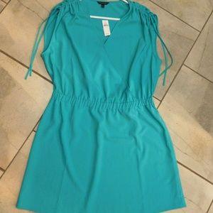 Banana Republic Turquoise Blue Sleeveless Dress L
